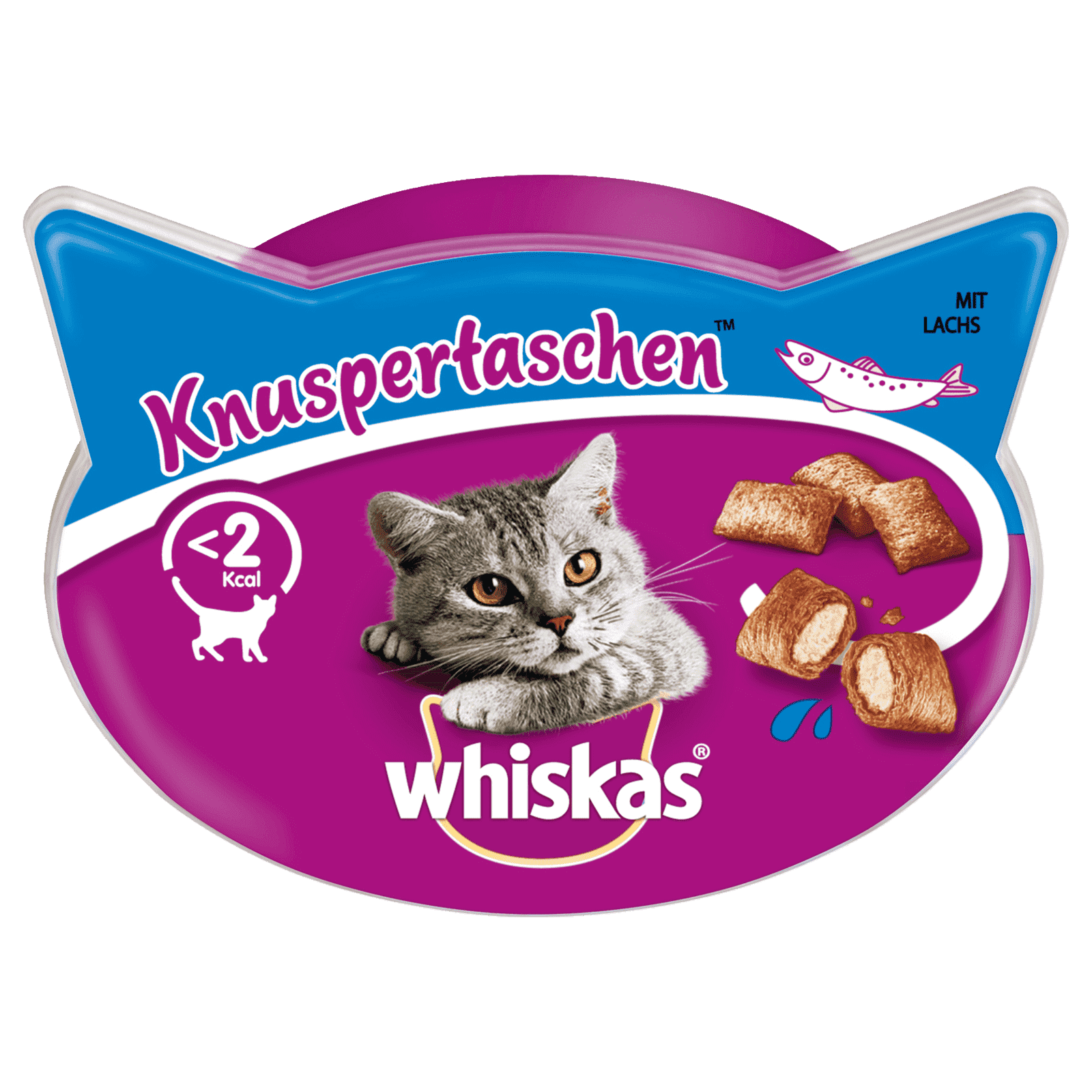 Whiskas Snacks, versch. Sorten
