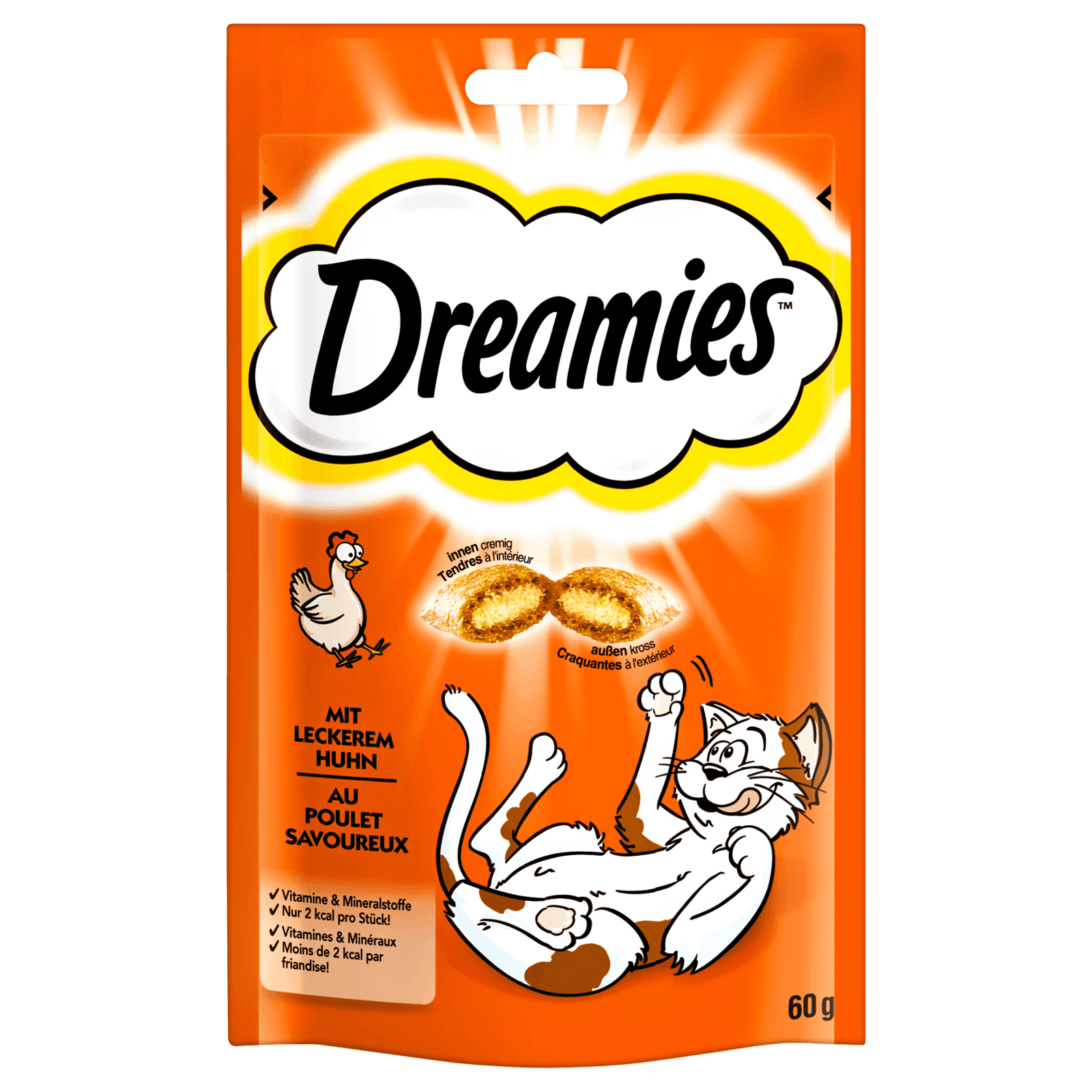 Dreamies, versch. Sorten